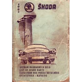 Škoda Octavia seznam náhradních dílů
