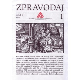 Zpravodaj VZP ČR 1998  ročník8/1