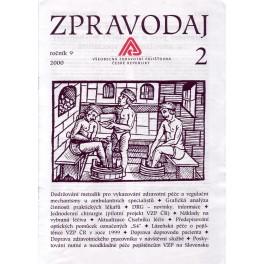 Zpravodaj VZP ČR 2000  ročník9/2