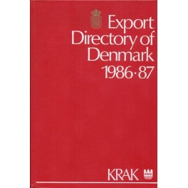 Export Directory of Denmark 1986-87