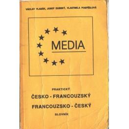 Praktický česko - francouzský a francouzsko - český slovník