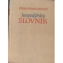 Česko -francouzský hospodářský slovník