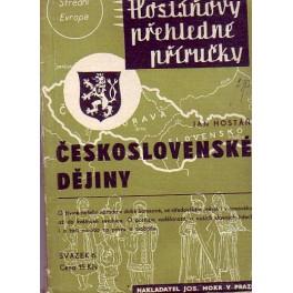 Československé dějiny