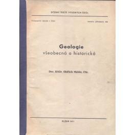 Geologie všeobecná a historická