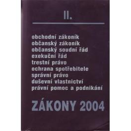 Zákony 2004 II.