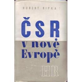 ČSR v nové Evropě