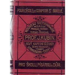 Nový kapesní slovník česko-francouzský