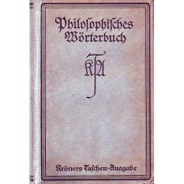 Philosophisches Werterbuch