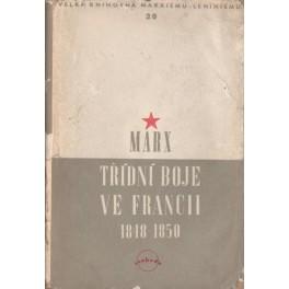 Třídní boje ve Francii 1848-1850