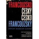 Francouzsko-český a česko-francouzský kapesní technický slovník