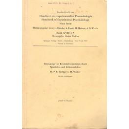 Handbuch der experimentellen Pharmakologie - Neue Serie, Band XVI
