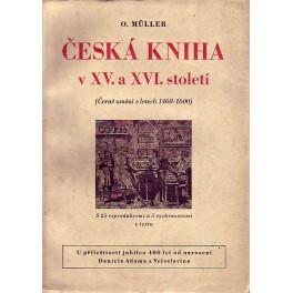 Česká kniha v XV. - XVI. století (černé umění v letech 1468 - 1600)