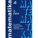 Matematika pro střední odborné školy a studijní obory středních odborných učilišť 2. část