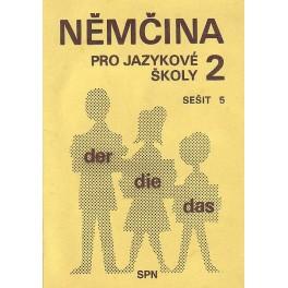 Němčina pro jazykové školy, sešity 1-20,