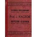 Kapesní slovník polsko - český a česko - polský