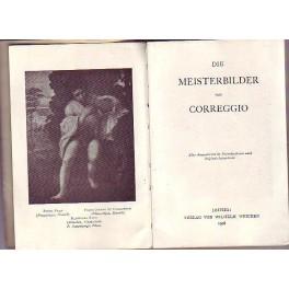 Die Meisterbilder von Corregio