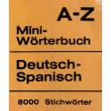 Mini Worterbuch A-Z Deutsch-Spanisch