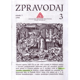 Zpravodaj VZP ČR 1998  ročník7/3