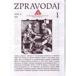 Zpravodaj VZP ČR 2001  ročník10/1
