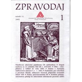 Zpravodaj VZP ČR 2002  ročník11/1