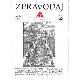 Zpravodaj VZP ČR 2002  ročník11/2
