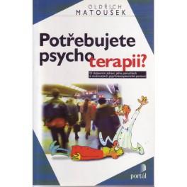 Potřebujete psychoterapii