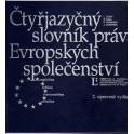 Čtyřjazyčný slovník práv Evropských společenství