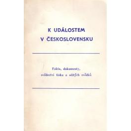 K událostem v Československu