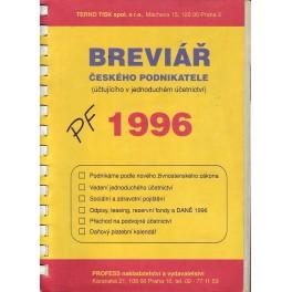 Breviář českého podnikatele pro rok 1996