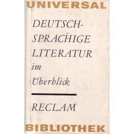 Deutsch-Sprachige Literatur im Überblick