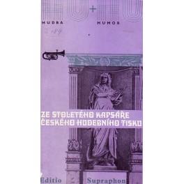 Ze stoletého kapsáře českého hudebního tisku