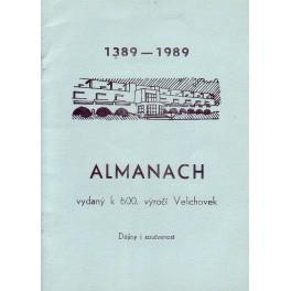 Almanach vydaný k 600. výročí Velichovek