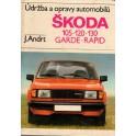Údržba a opravy automobilů Škoda 105, 120, 130, Garde, Rapid