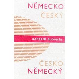 Německo-český a česko-německý kapesní slovník