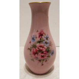 Vázička - růžový porcelán