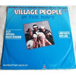 Village People in the navy - Manhattan Woman