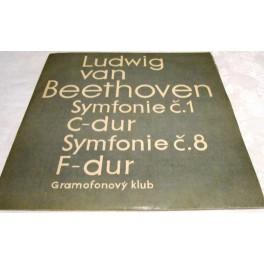 Ludwig van Beethoven op. 21 a93 Symfonie č. 1 C dur*Symfonie č. 8 F dur