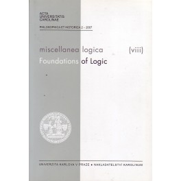 Miscellanea logica (Foundations of Logic) (viii)