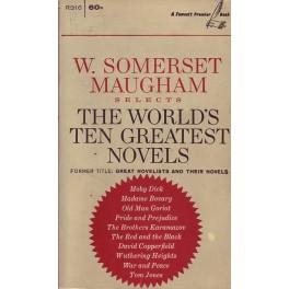 The world´s ten greatest novel